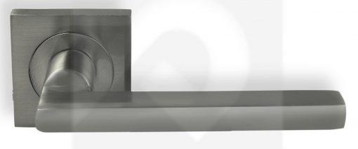 Juego de Manillas Cuadrada Aluminio Niquel Mate 316