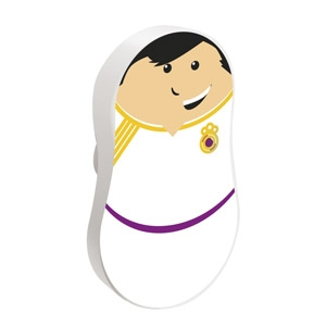 Pomo Infantil Matrioskids Futbolista Blanco 793K