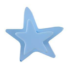 Pomo Infantil Juvenil Metacrilato Estrella Azul 667AZ