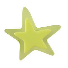 Pomo Infantil Juvenil Metacrilato Estrella Verde 667VE