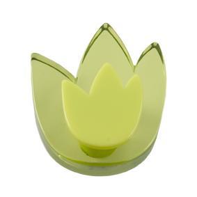 Pomo Infantil Juvenil Metacrilato Tulipan Verde 665VE