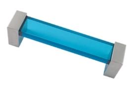 tirador metacrilato azul 671AZ1