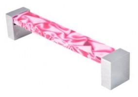 tirador metacrilato rosa 672