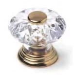Pomo cristal oro 423