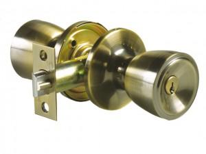 componente de una puerta pomo llave laton 600