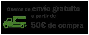 envío gratuito a pedidos supereriores a 50€