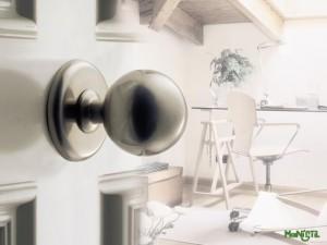 pomo de diseño para puerta entrada casa