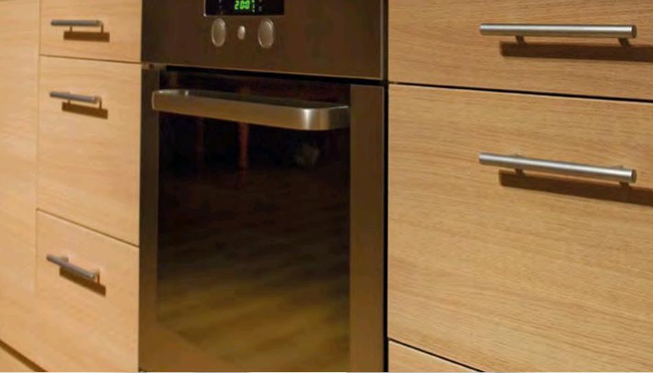 Tirador inox para cocina ref 431 manistil - Tirador mueble cocina ...