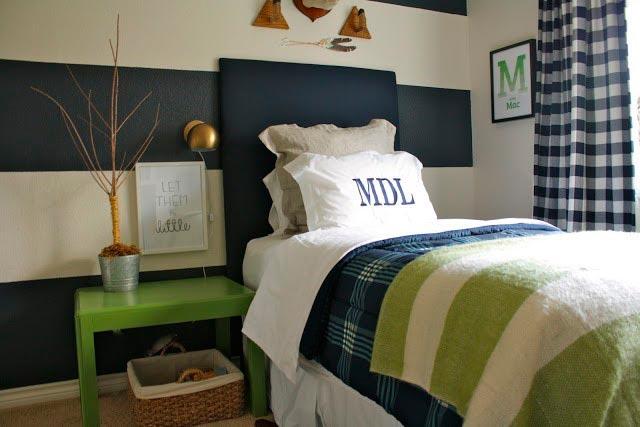 decoracion greenry habitaciones juveniles