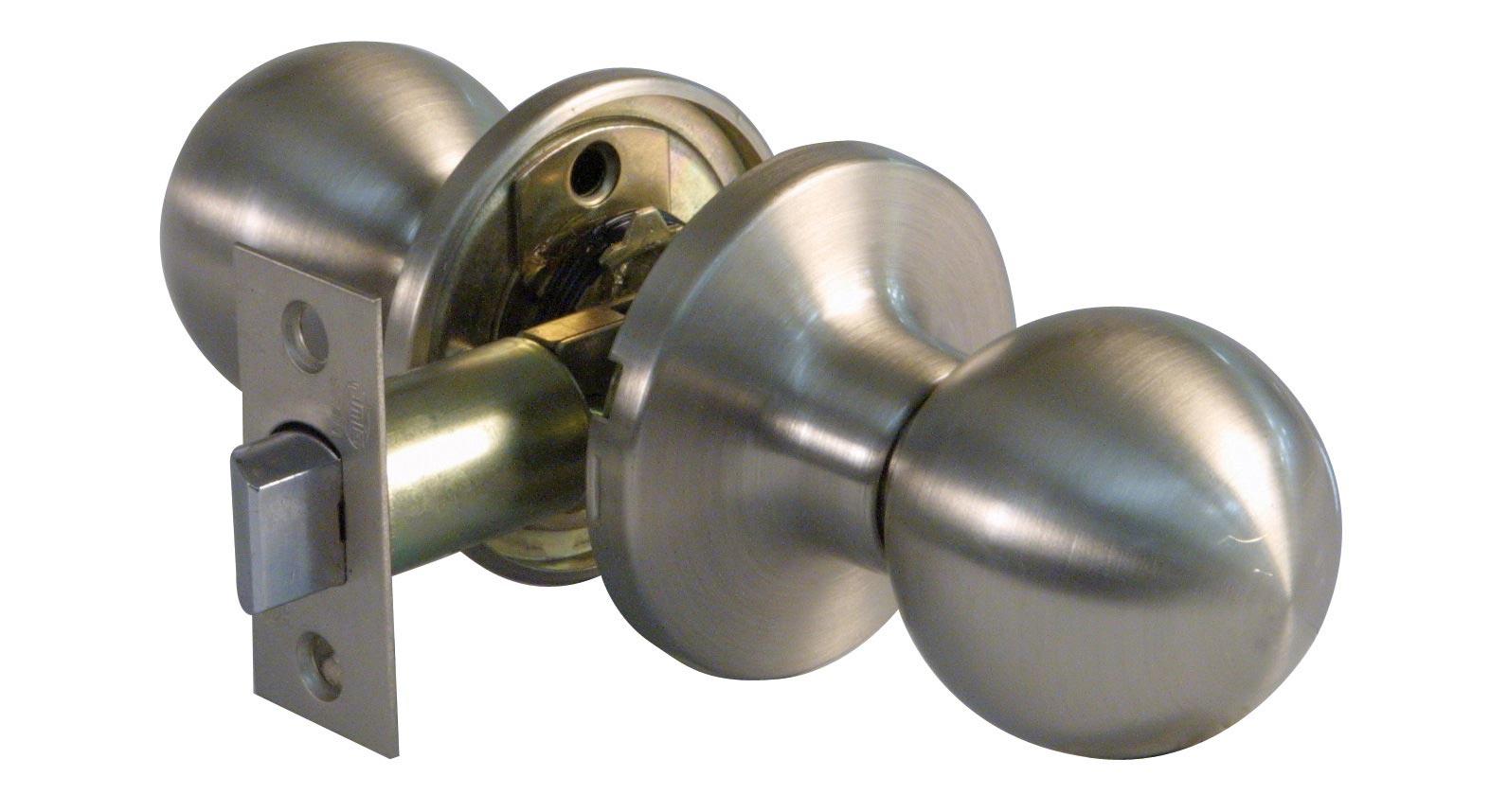 Juego de pomos paso bola 611 cromo mate manistil - Pomos puertas interior ...