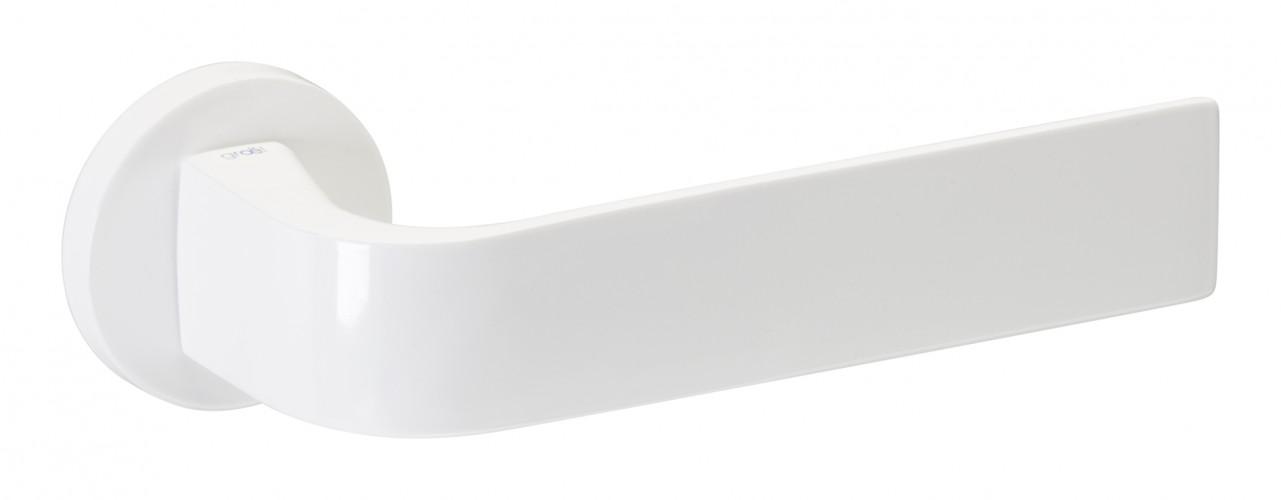 Juego de manillas blanco brillo 135 senso manistil - Manivelas puertas interior ...